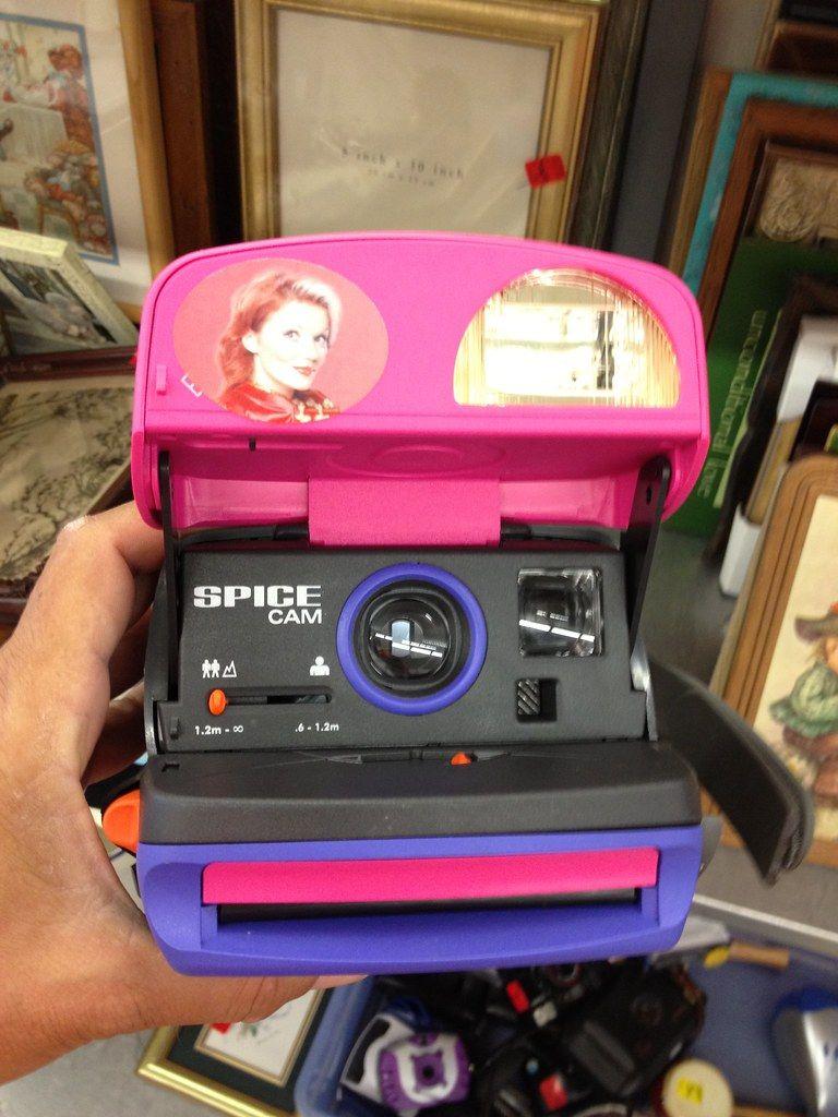 Spice Girls Polaroid Camera, Flickr Phillip Pessar