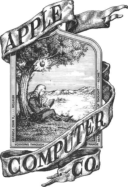 Apple's erstes Logo