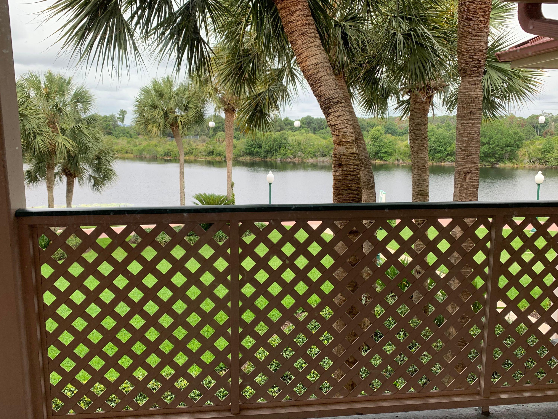 "A ""water view"" at Disney's Caribbean Beach Resort in Florida."