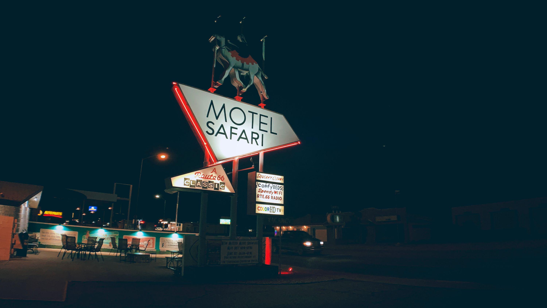 Motel Safari in Tucumcari, New Mexico