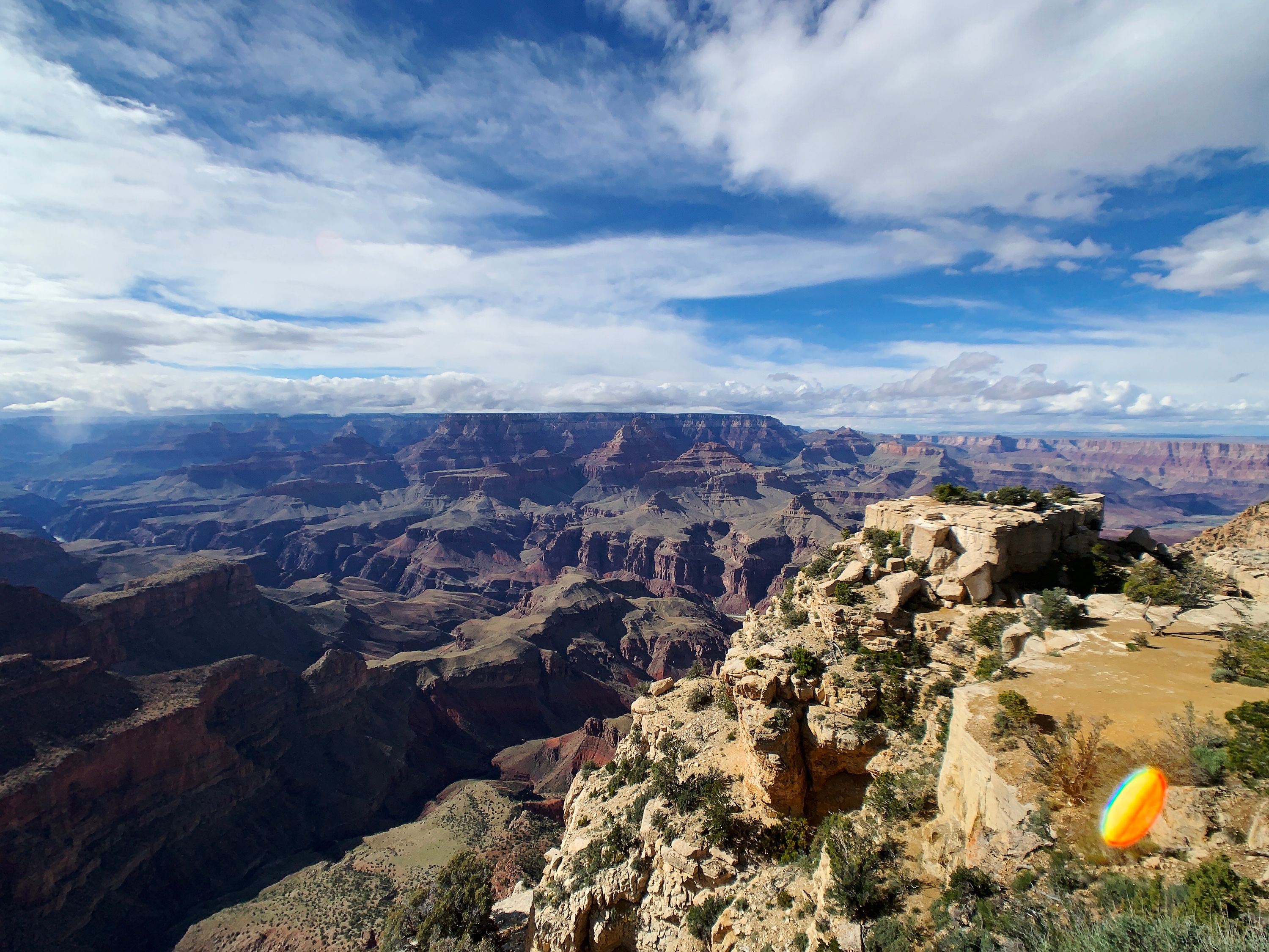 A View of the Grand Canyon near Moran Point