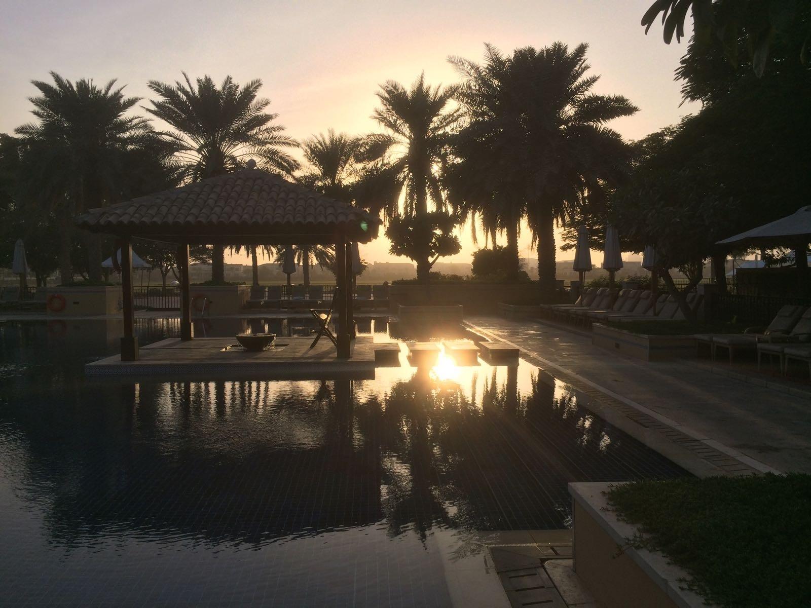 A swimming pool in Dubai