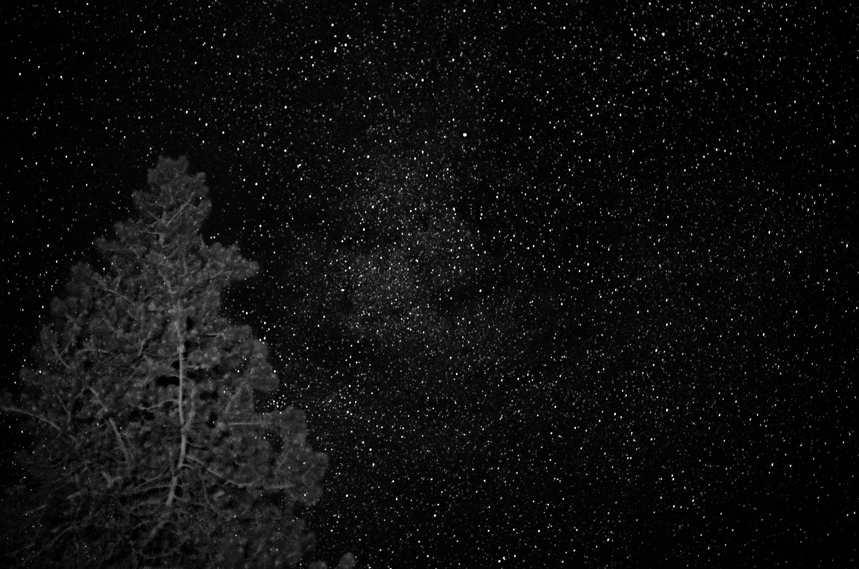 Night Sky at Mt Shasta - Leica TL, 55m, 30sec.