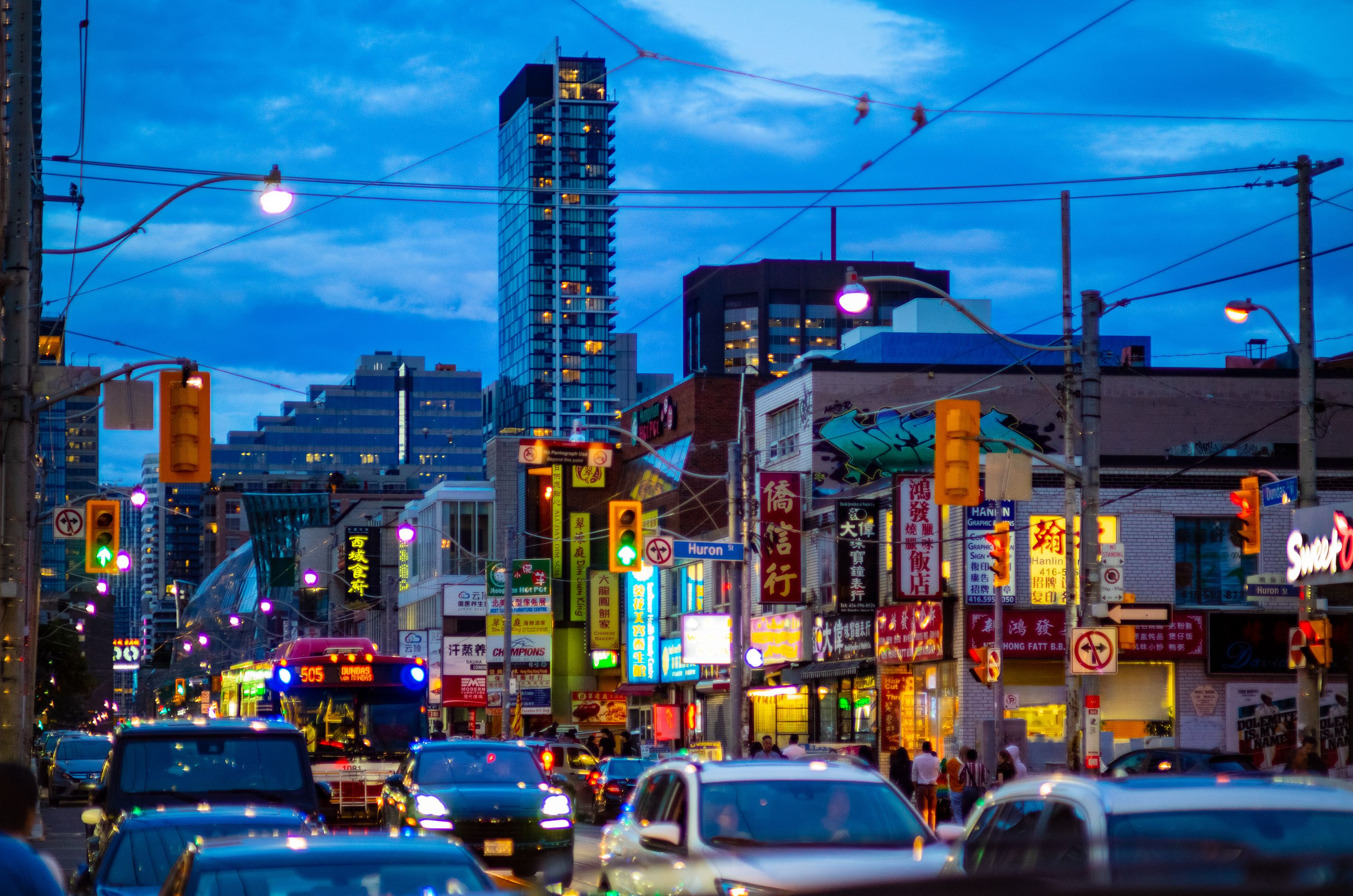 China Town in Toronto
