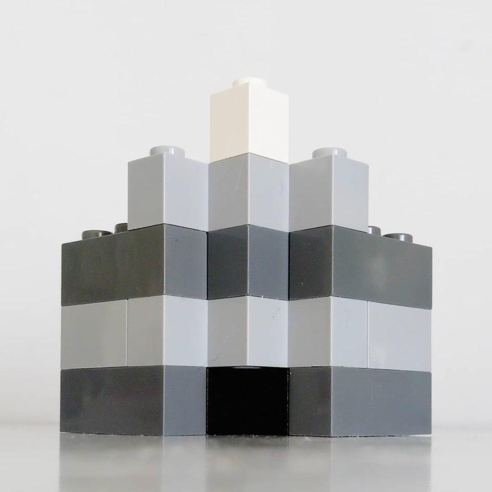 Brutalist architecture in Lego