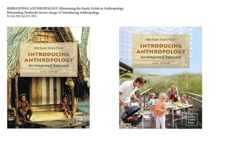 Rebranding Anthropology Textbooks