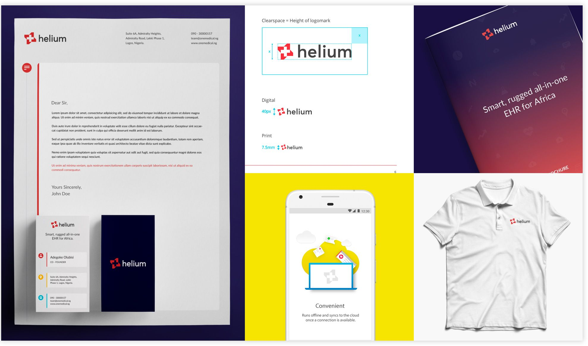 Helium's refreshed identity since I joined