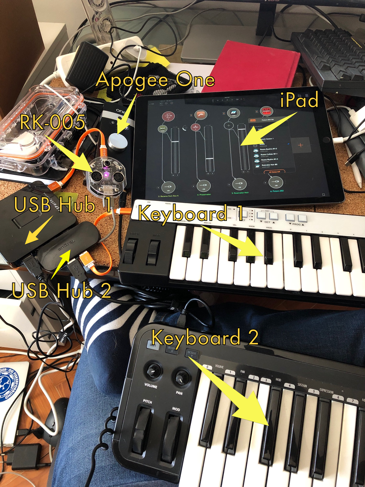 iPad Audio Setup