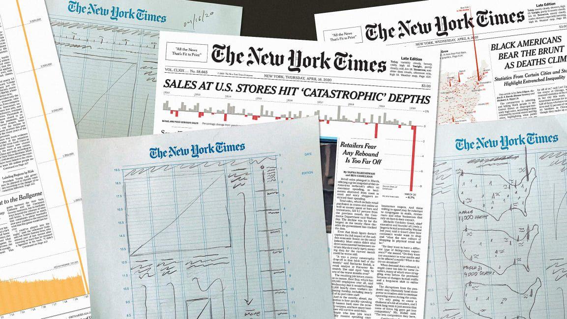 Proceso de diseño de las portadas del New York Times