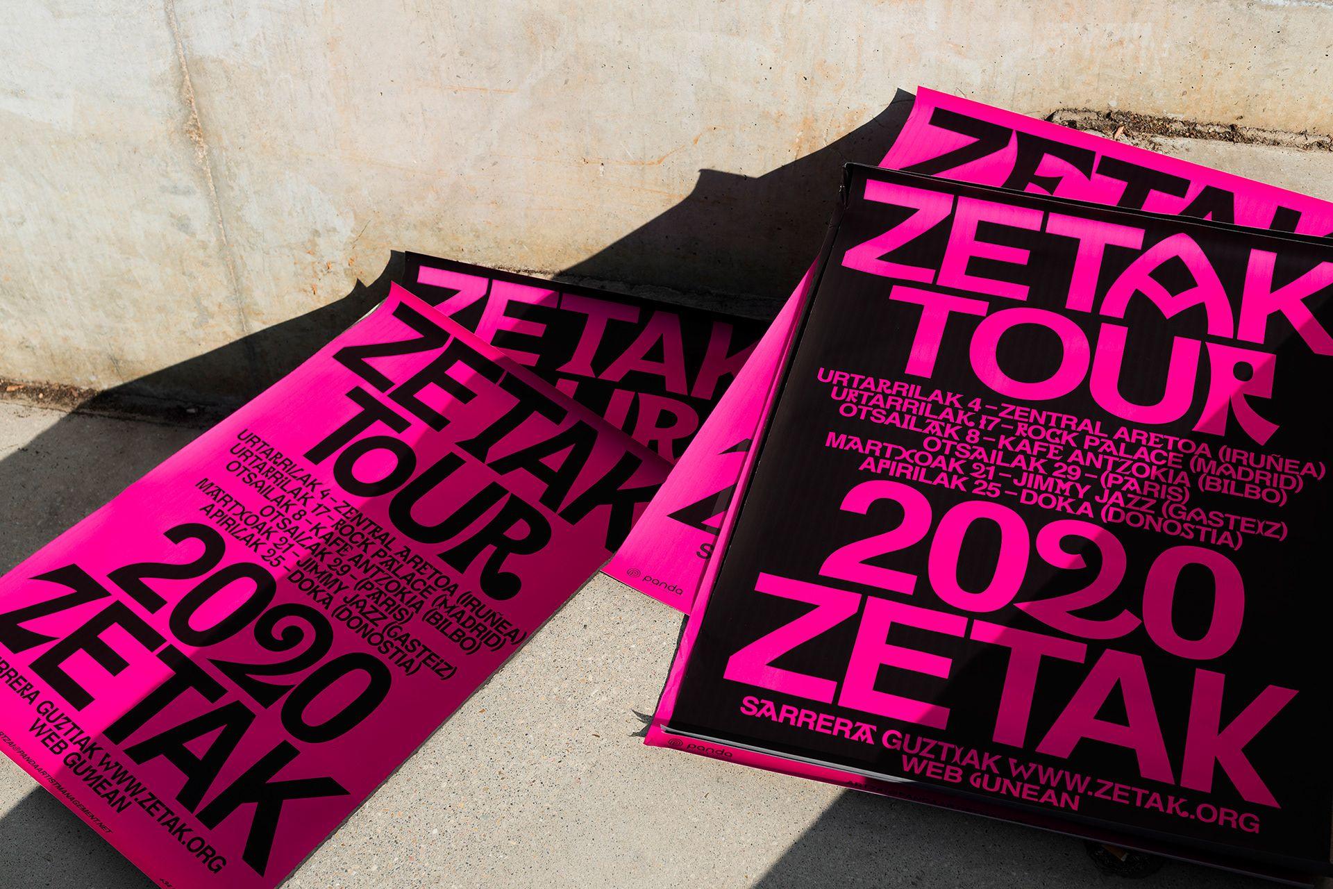Tipografía para ZETAK