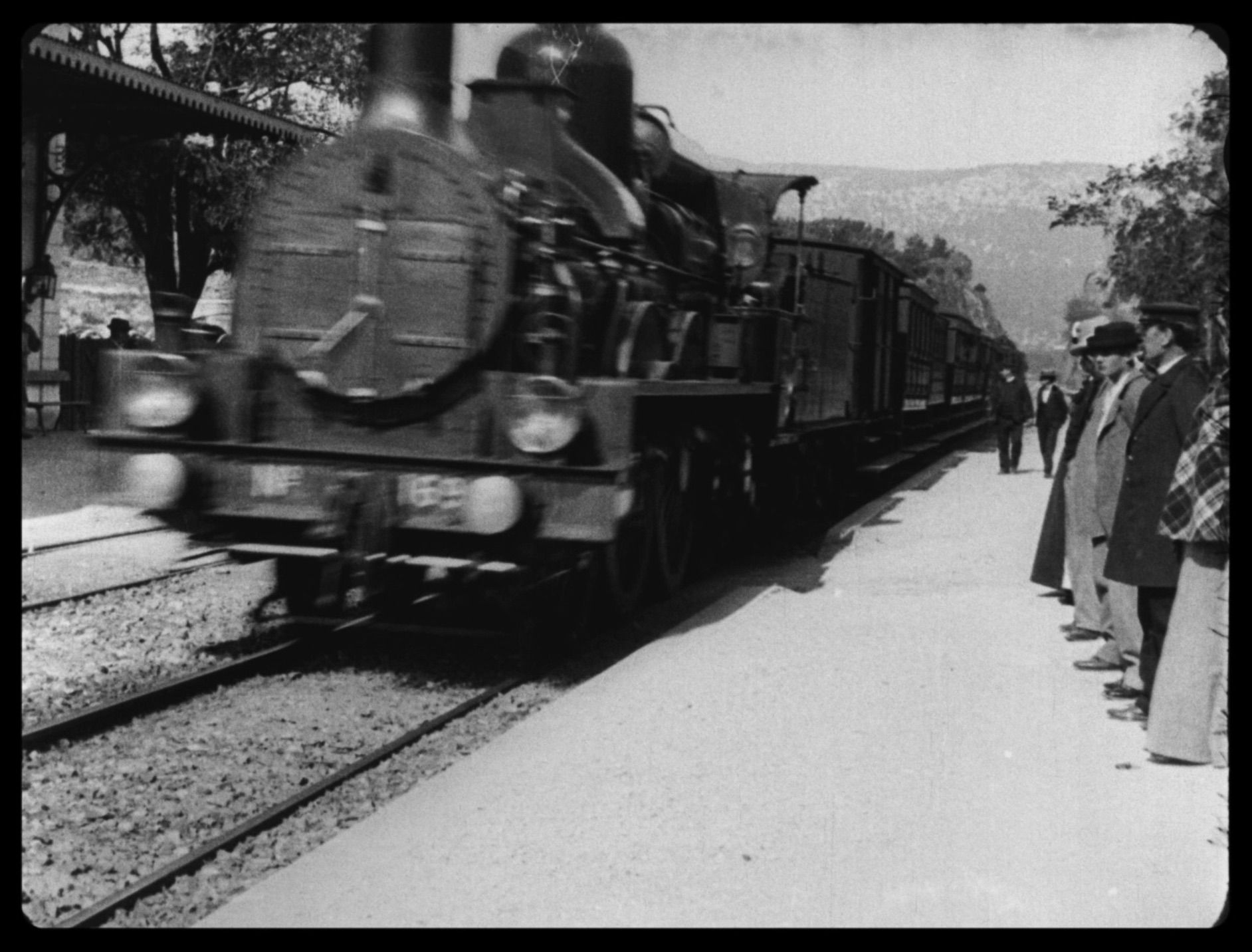 Lumiere, la llegada del tren a la ciudad