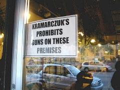 No Guns at Kramarczuk's