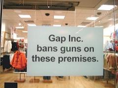 No Guns at The Gap