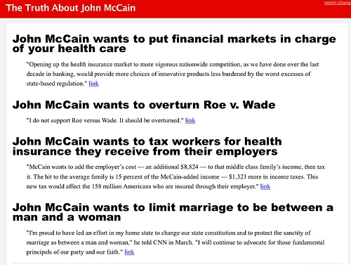 The Truth About John McCain