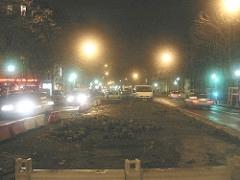 Bus Lanes Under Construction