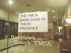 The YMCA Bans Guns