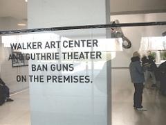 No Guns at the Walker Art Center