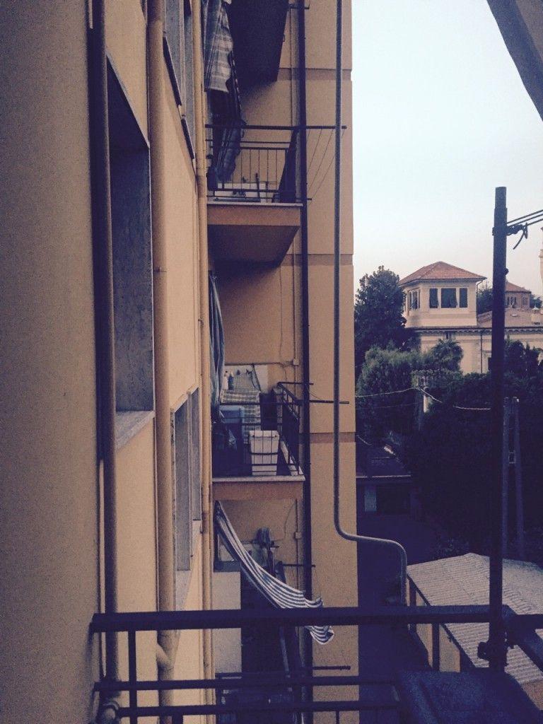 Alles auf dem Balkon