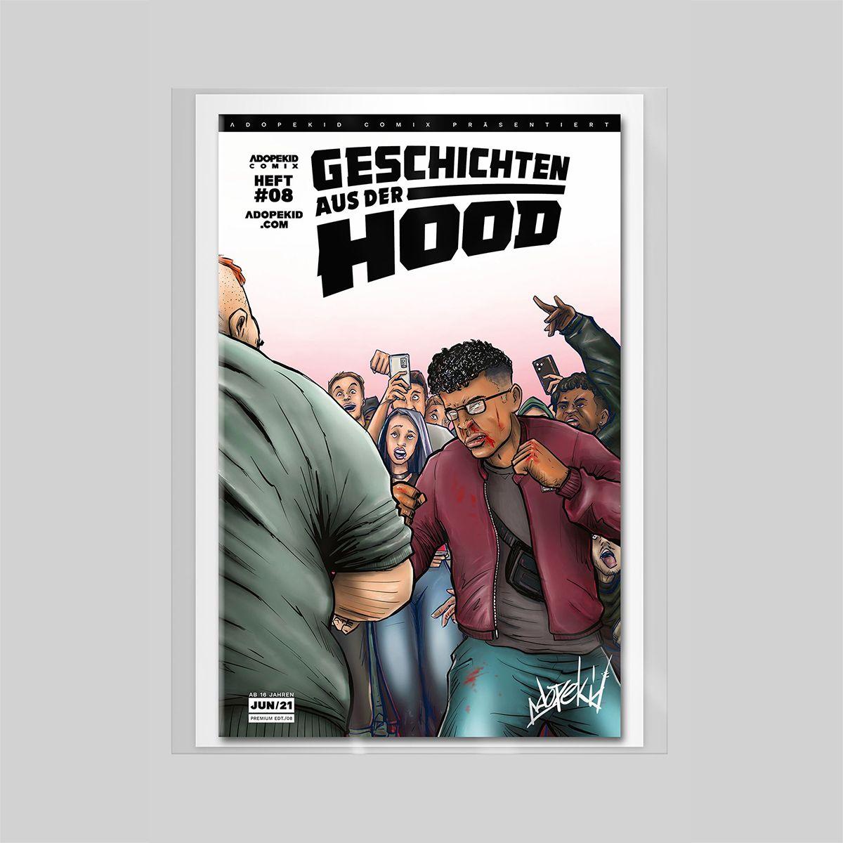 Geschichten aus der Hood Premium Cover
