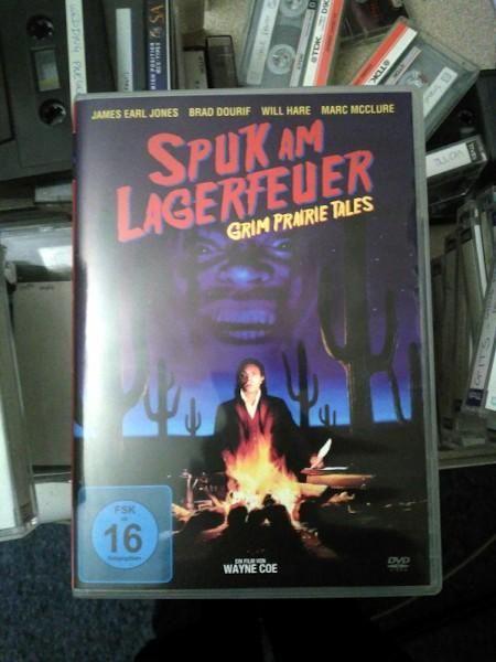German DVD of the film Grim Prarie Tales