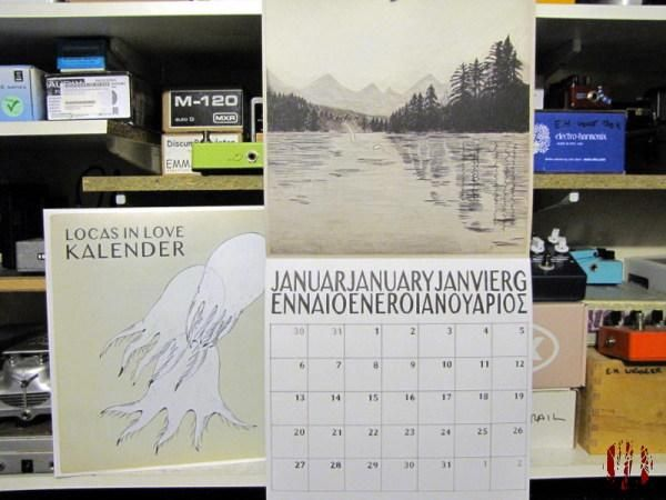 Photo of the new Locas In Love LP Kalender and the eponymous Kalender which comes with it