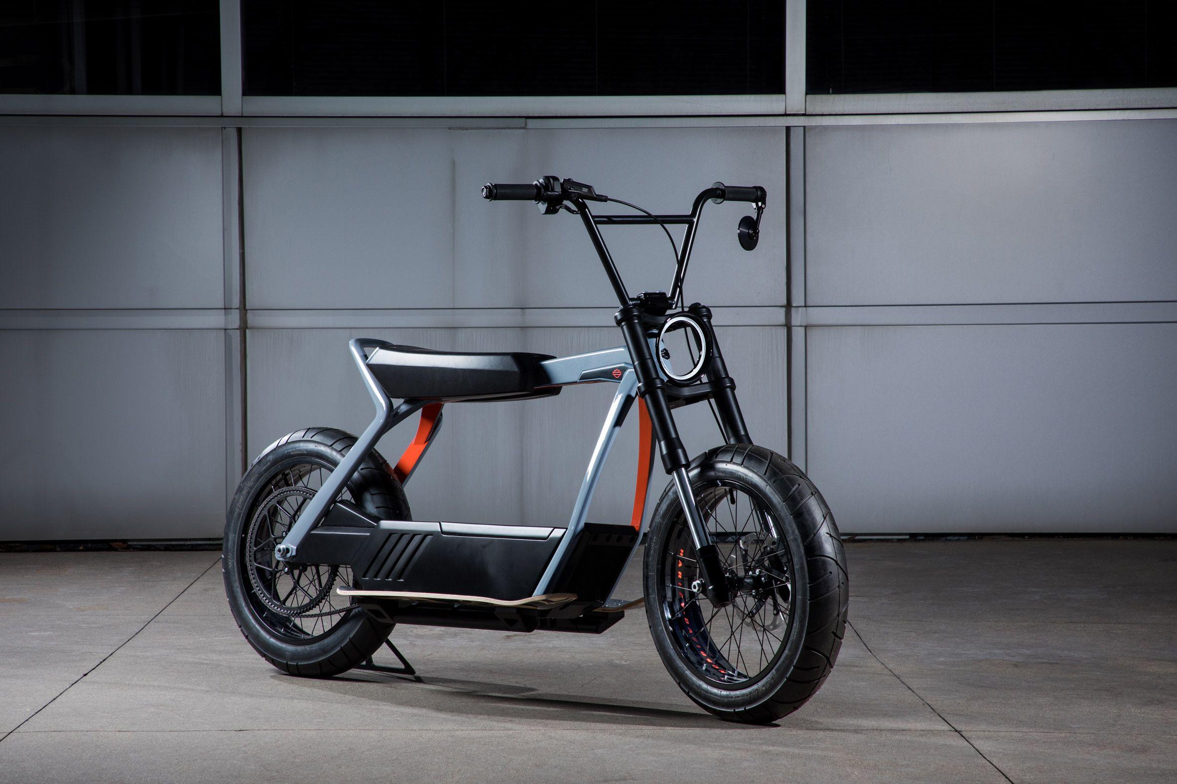 Harley Davidson Electric Commuter Bike