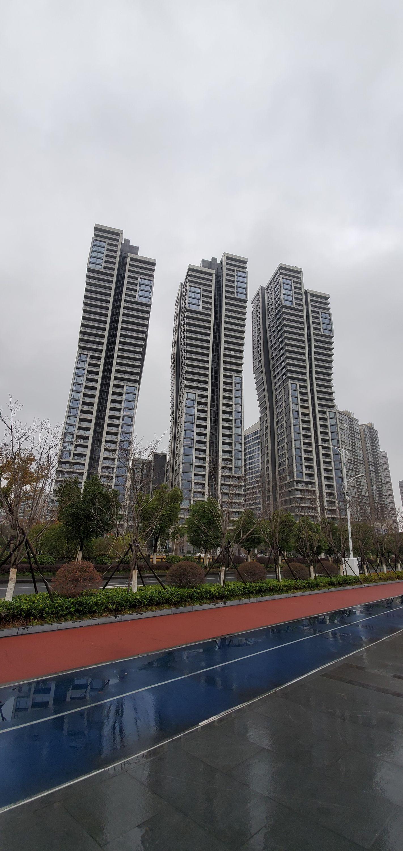 futuristic residence in binjiang