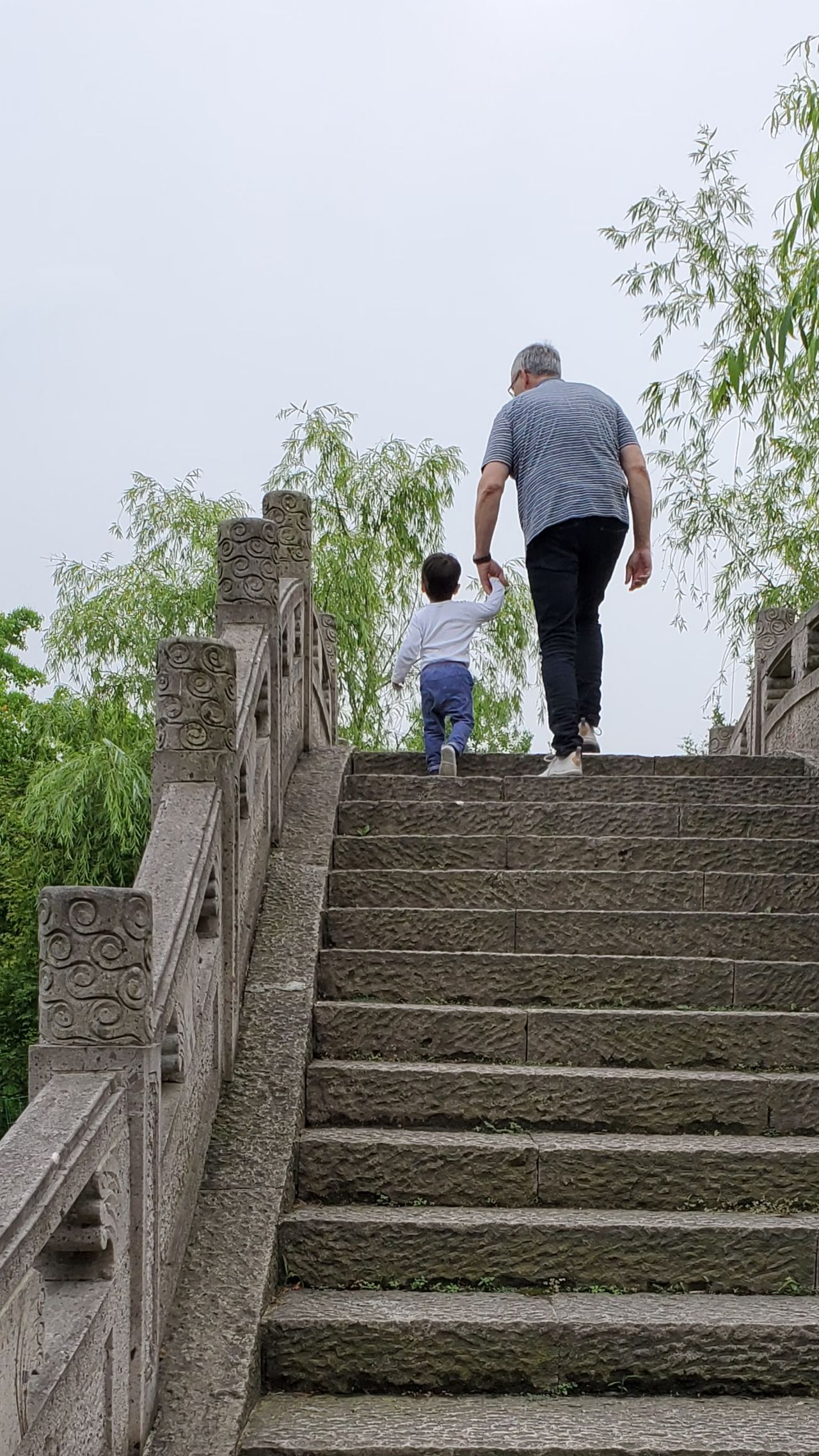 Eli & my father in Hangzhou