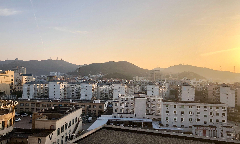 sunset - shengsi caiyuan