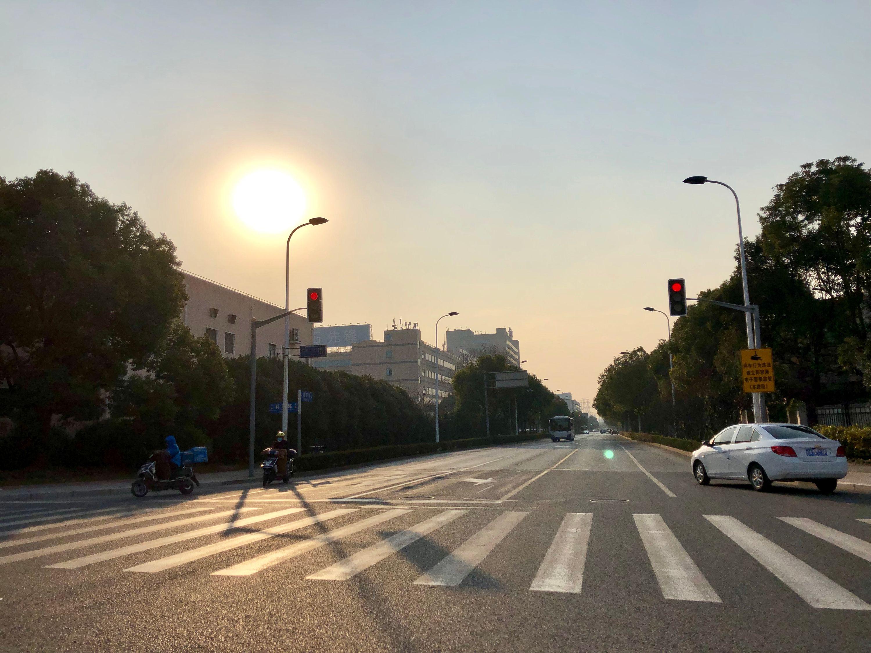 afternoon sun - zhangjiang innovation district