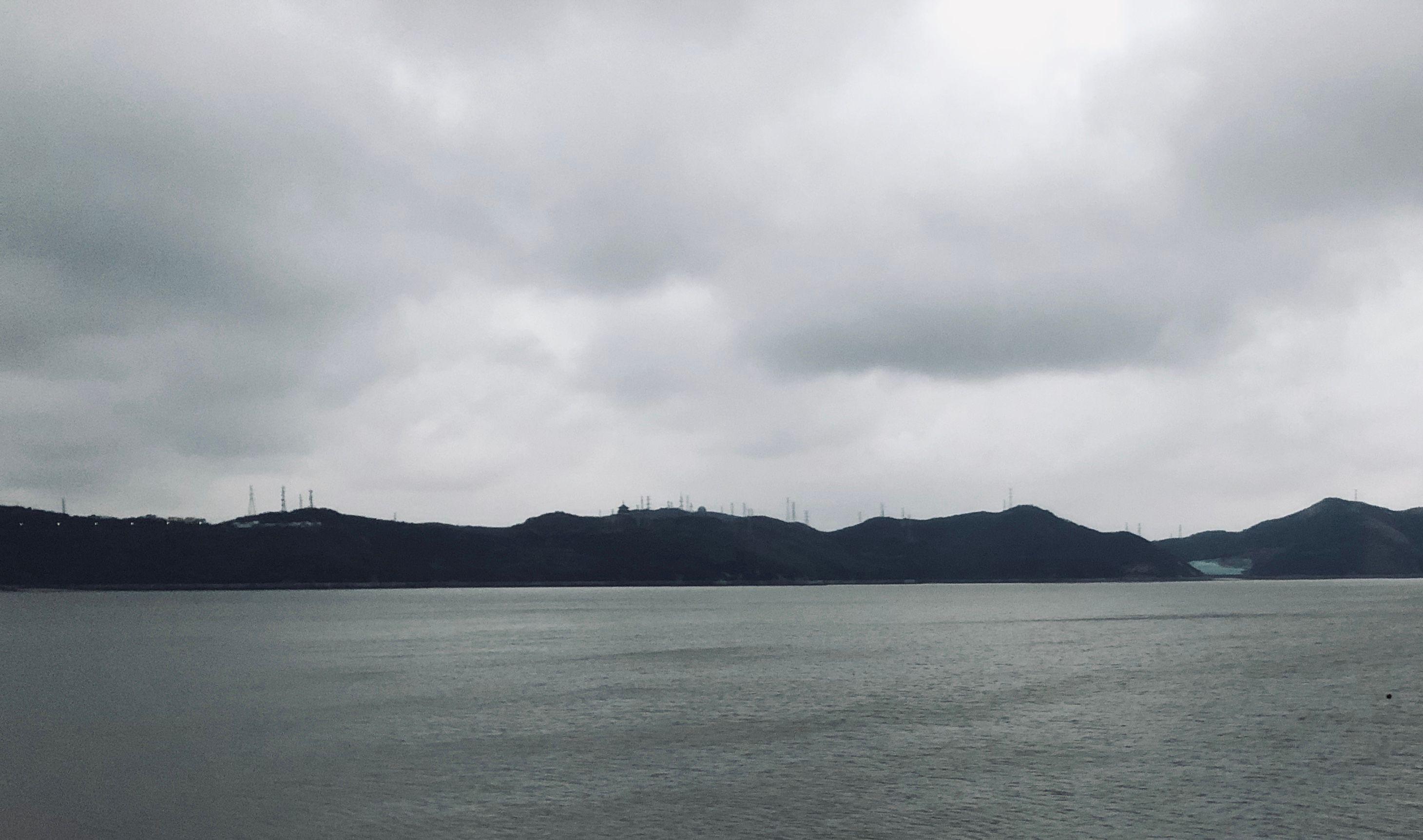 departure - shengsi harbor