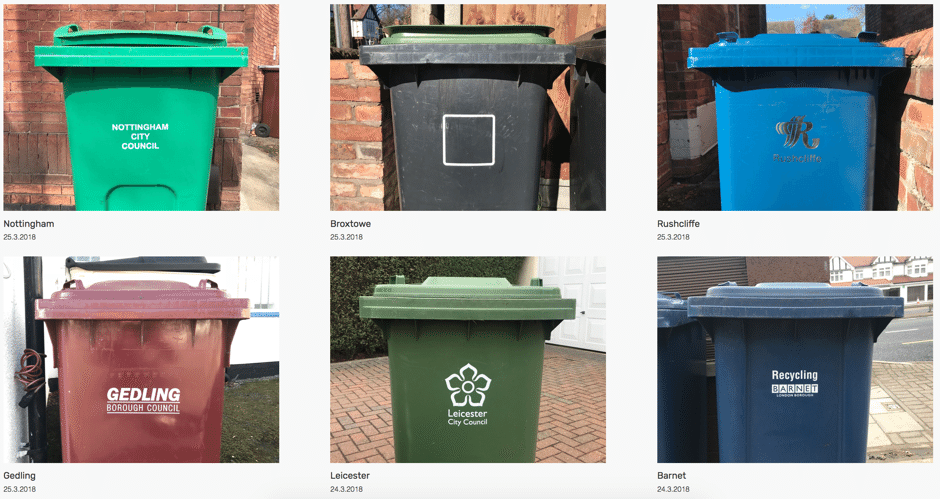 Images of garbage bins