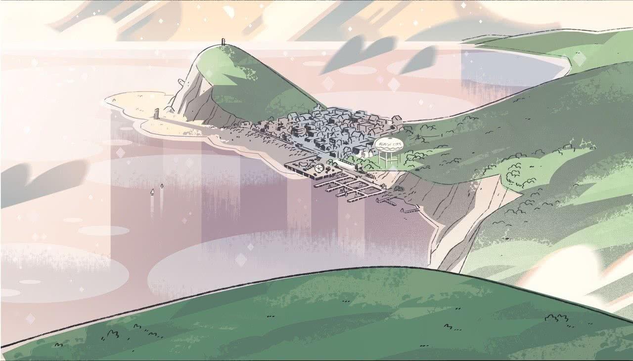 Background art from Steven Universe