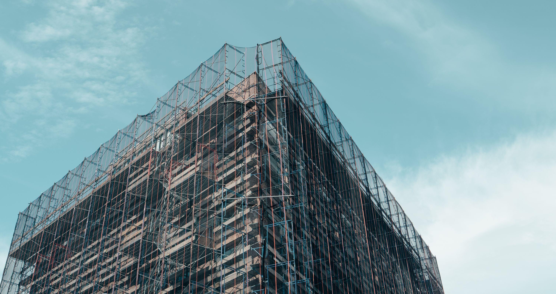 scaffolded