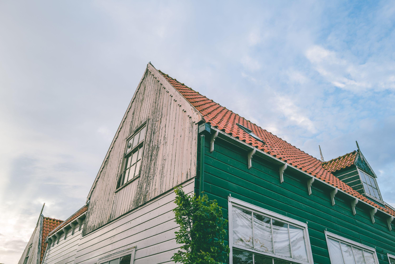 abandoned marken townhouse