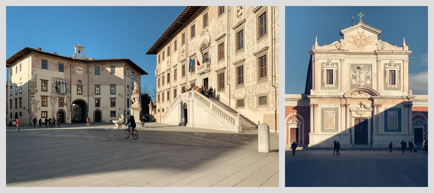 University of Pisa campus buildings