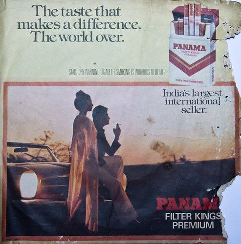 Tobacco sponsorship? No problem this is 80s still