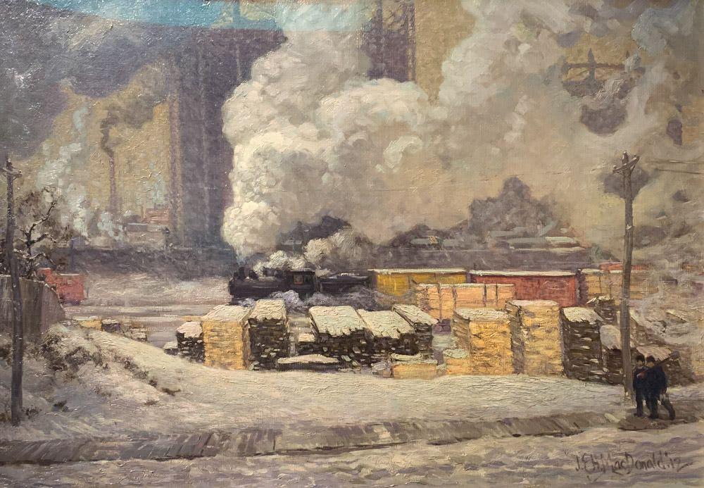 J. E. H. MacDonald: Tracks and Traffic
