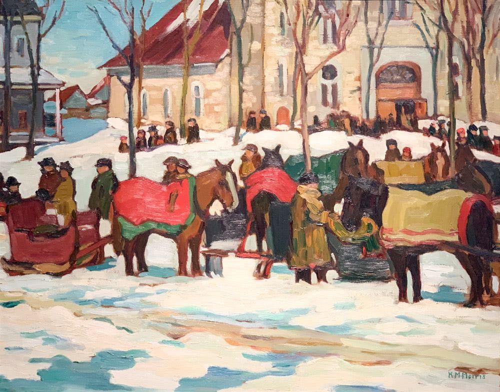 """Kathleen Moir Morris: After """"Grand Mass"""", Berthier-en-Haut"""