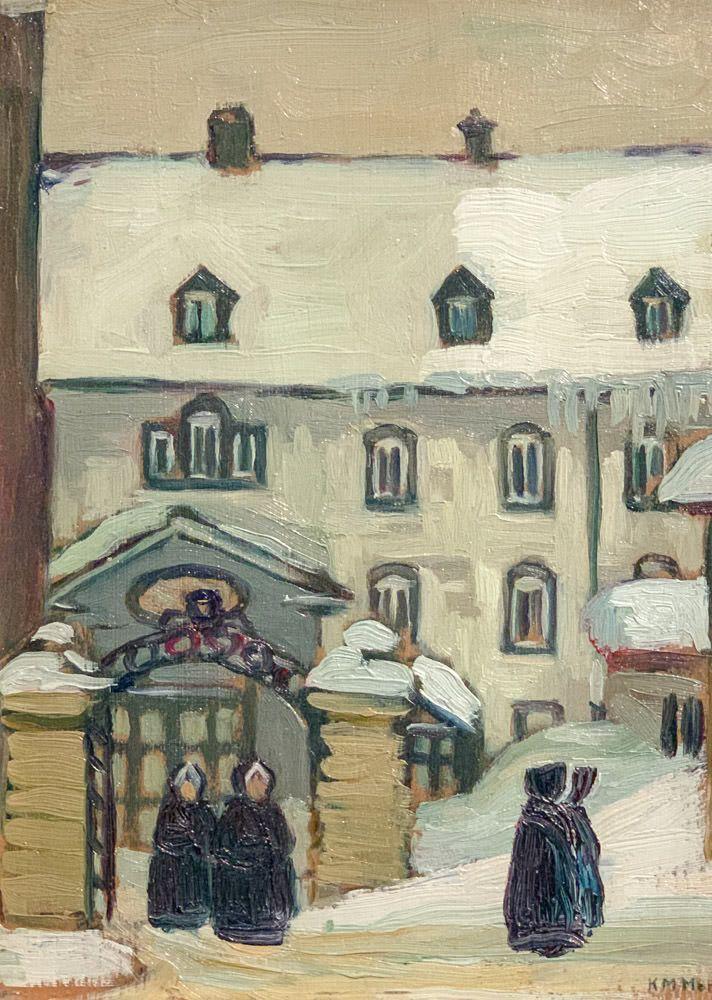 Kathleen Moir Morris: Nuns, Quebec