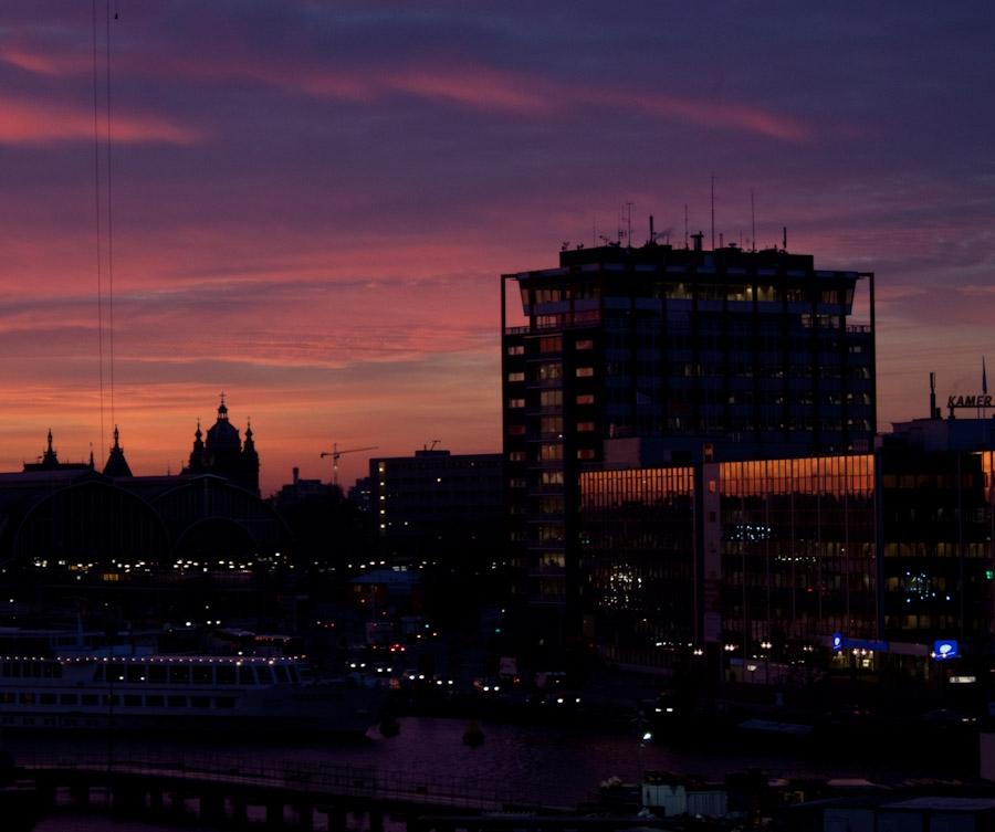 One of those glorious Oct sunrises