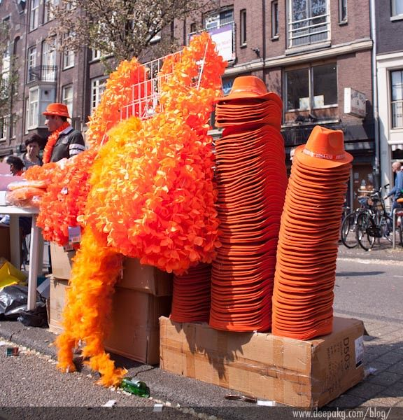 Queen's Day in Amsterdam