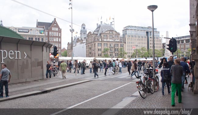 Dam square book fair
