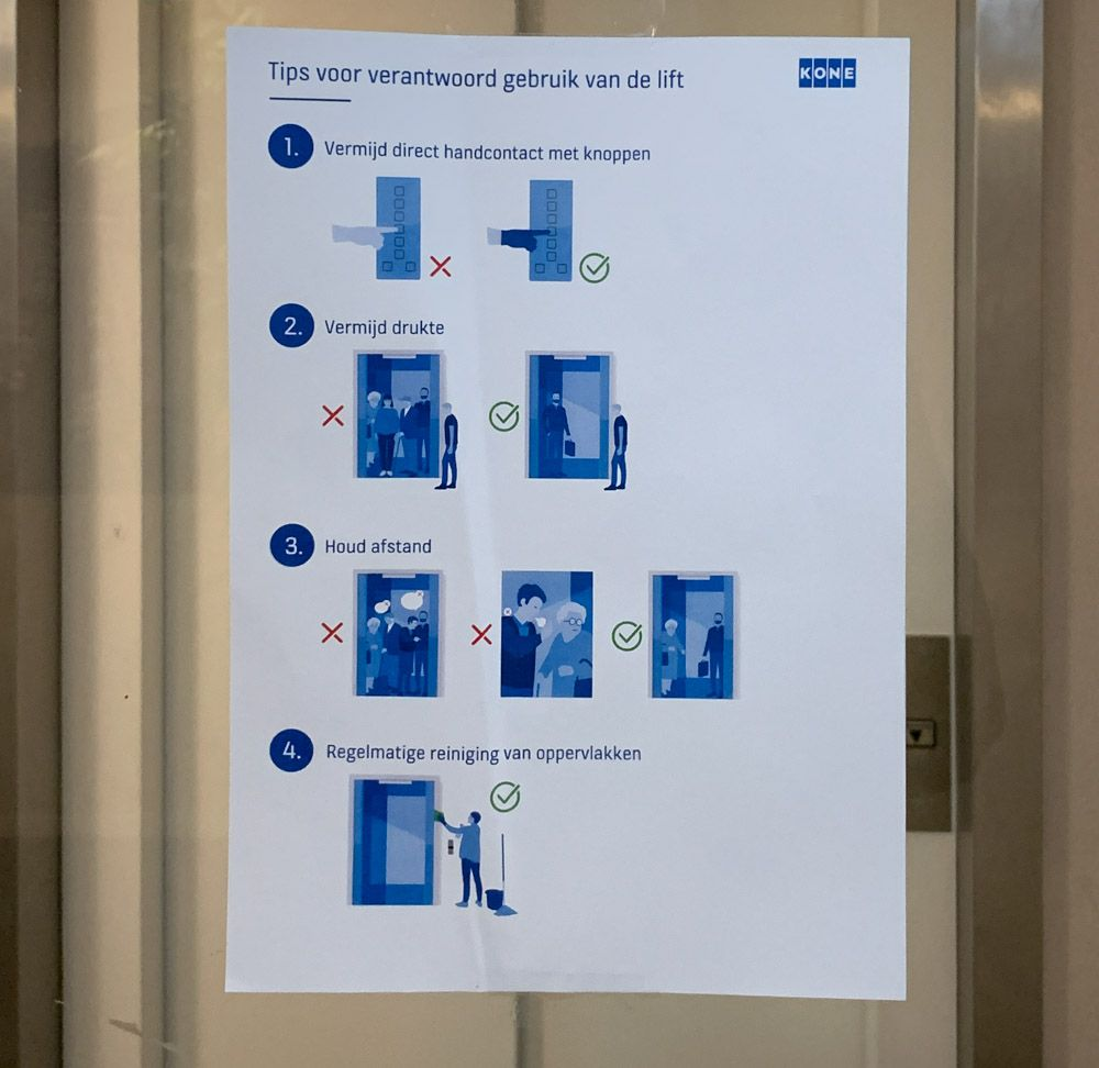 How to use an elevator during a pandemic