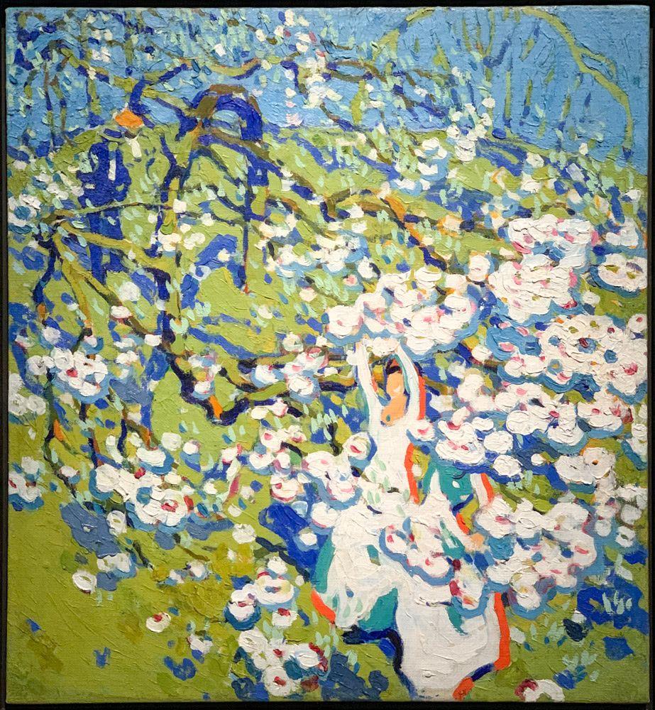 David B. Milne: The Blossom Pickers