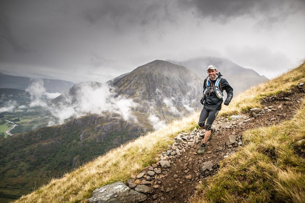 The descent into Glen Nevis