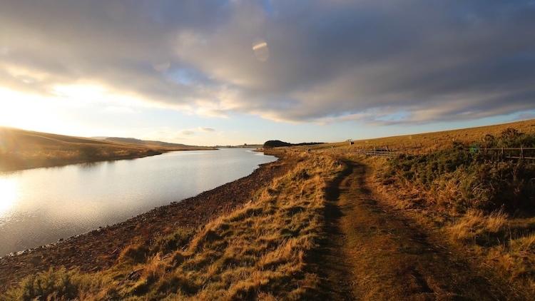 A Sunday afternoon walk at Threipmuir Reservoir in the Pentland Hills.
