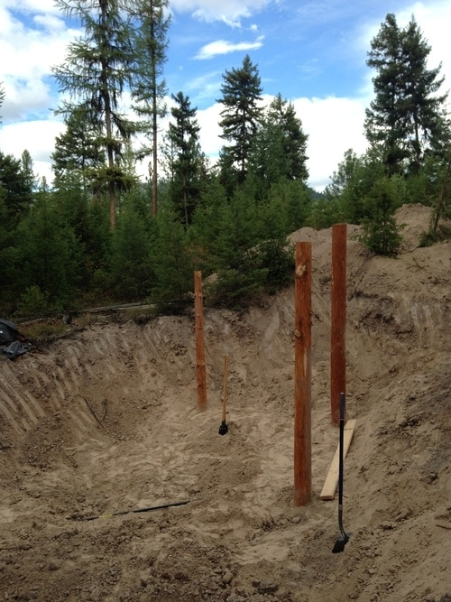 Posts in ground(2)
