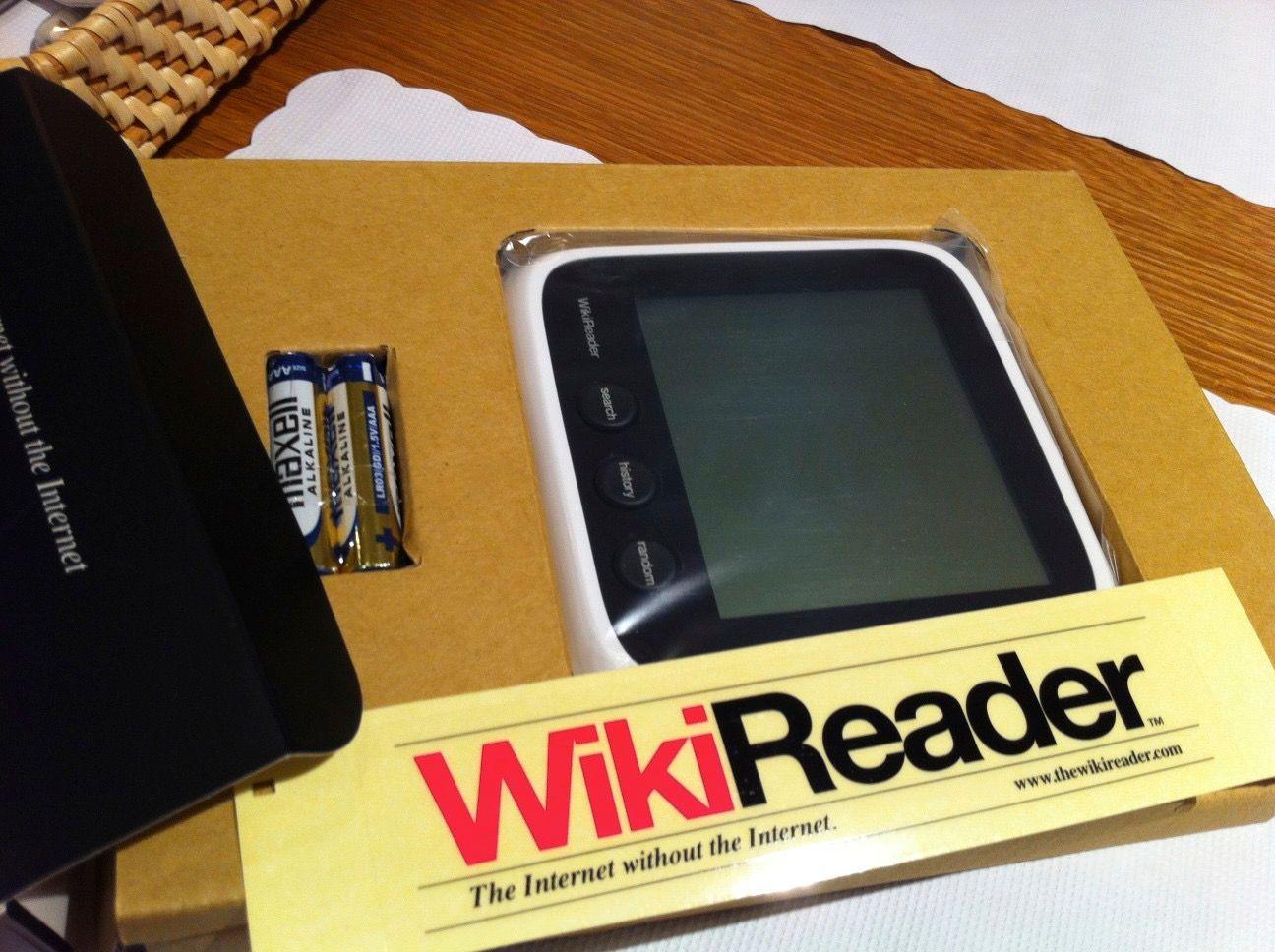 The WikiReader