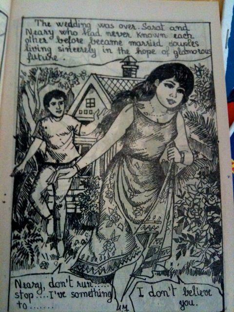 Cambodian comics